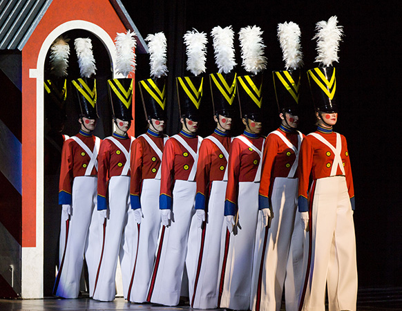 Parade of the Wooden Soldiers. Photo courtesy of the Rockettes.
