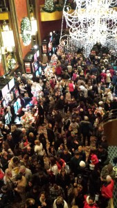 The huge crowd after the show. Copyright Deborah Abrams Kaplan