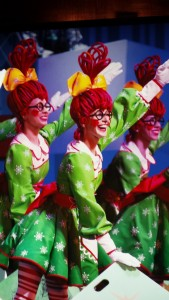 The Rockette rag dolls. Copyright Deborah Abrams Kaplan