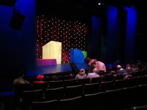 The Mad Libs Live theater at New World Stages. Copyright Deborah Abrams Kaplan
