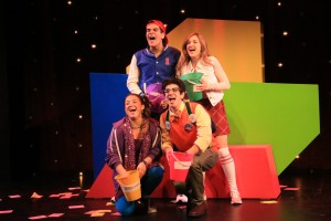 The four actors in the show. Photo courtesy of Mad Libs Live.