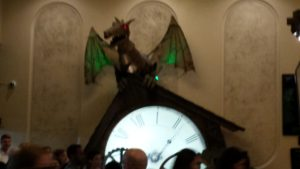 Enjoy the clock inside the front lobby.