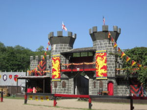 Castles to explore at the New York Renaissance Faire. Copyright Deborah Abrams Kaplan