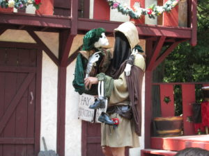 Ded Bob at the NY Renaissance Faire. Copyright Deborah Abrams Kaplan