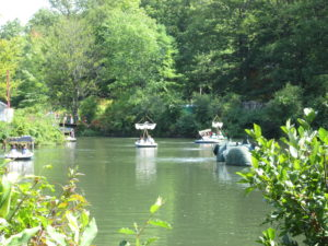 Boating at the New York Renaissance Faire. Copyright Deborah Abrams Kaplan