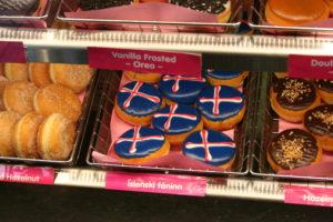 Icelandic Dunkin Donuts. Copyright Deborah Abrams Kaplan