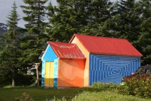 A garage in Seydusfjorder. Copyright Deborah Abrams Kaplan