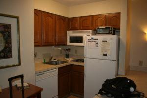 The Staybridge Suites kitchen