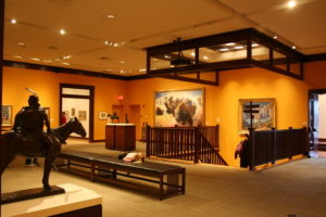 The Rockwell Museum focuses on Western art.