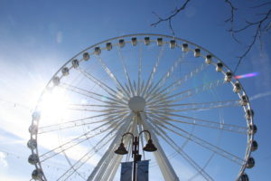 The Skywheel is one of the Fun Pass included attractions