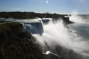 American Falls from the overlook.