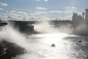 Niagara Falls with the boat tour
