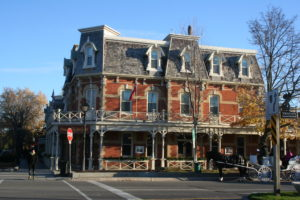 This large and stately Prince of Wales Niagara on the Lake hotel was hard to miss.