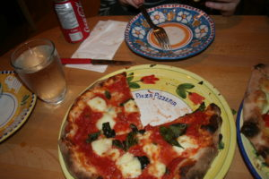 Wood-fired pizza in a house in Niagra on the Lake - Pieza Pizzeria
