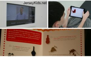 Interactive things for kids to do at the Corning Museum of Glass.