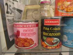 Manischewitz factory lobby has old products to show