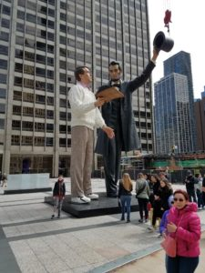Seward Johnson Lincoln sculpture