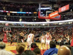 Bulls tickets row a