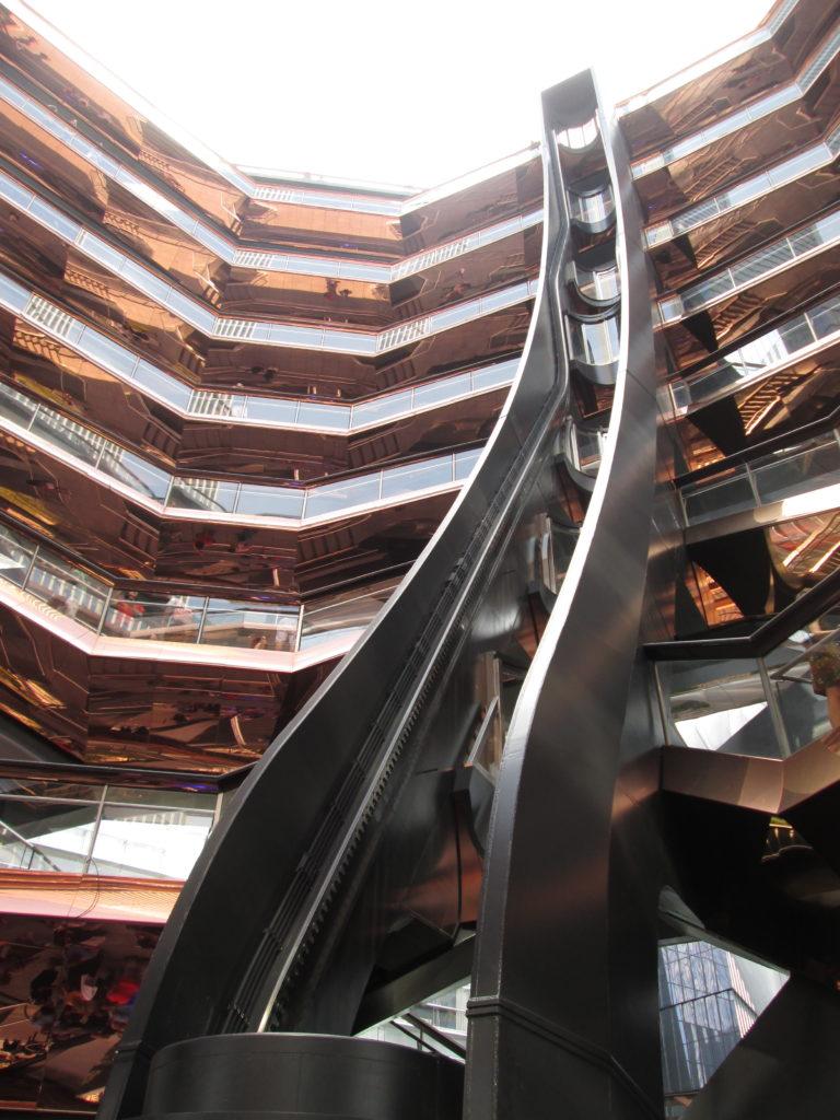 The Vessel Hudson Yards elevator
