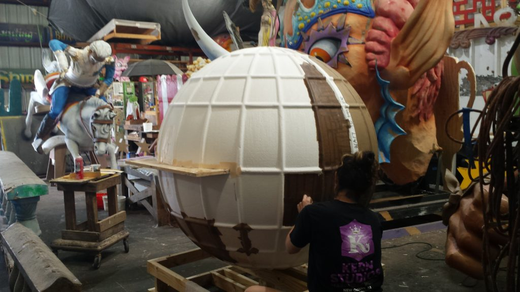 Review Mardi Gras World With Kids